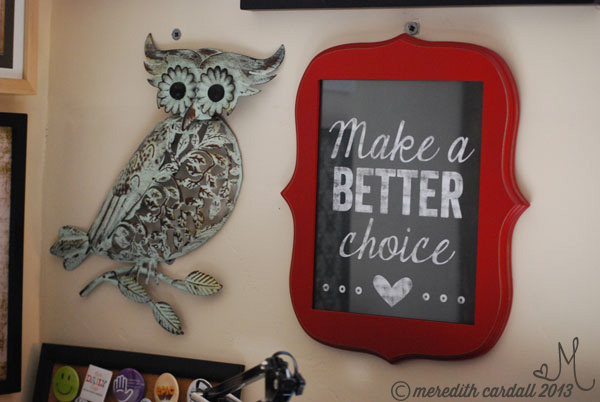 Digital Scrapbook Art - Better Choice | Meredith Cardall