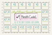 Meredith Cardall shopper rewards